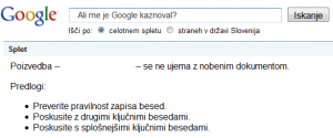 Google kazen